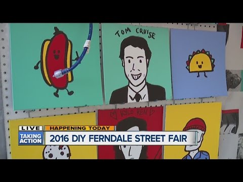 140+ artists take over Downtown Ferndale