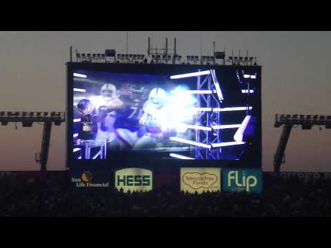 Super Bowl XLIV Saints and Colts intros LIVE in Sun Life Stadium