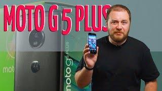 видео Обзор смартфона MOTO G5 PLUS
