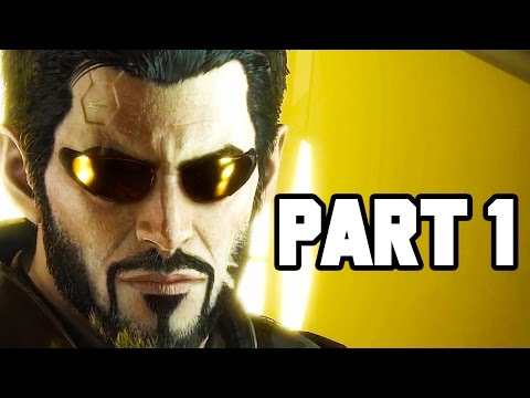 Deus Ex Mankind Divided Gameplay Part 1 - EPIC MISSION, EPIC STEALTH (Walkthrough Preview 1080p)