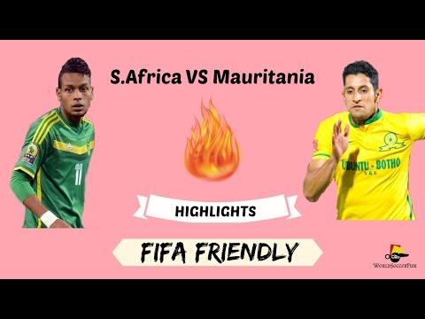 South Africa VS Mauritania // CAF 2017 // 03.09.2016