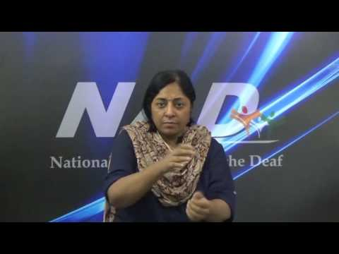 NAD India News:- Deaf Women Rights and Empowerment