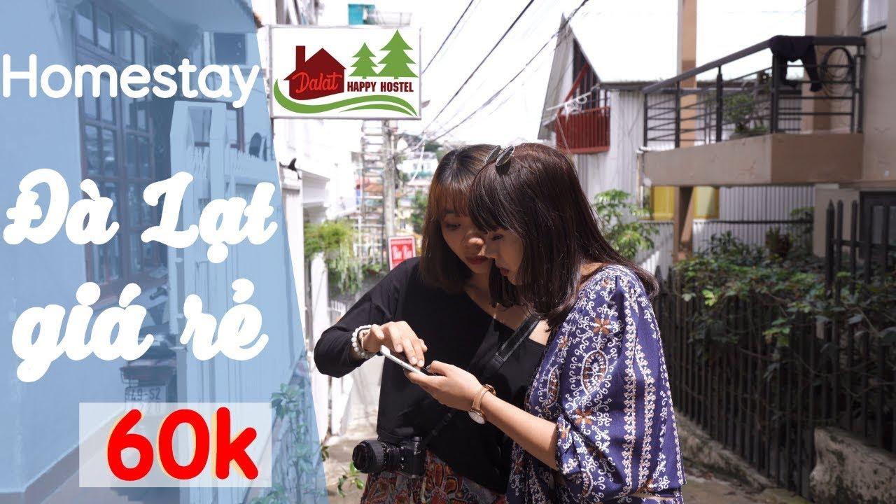 Homestay Đà Lạt giá rẻ ngay trung tâm giá chỉ từ 60k /người | Dalat Happy Hostel