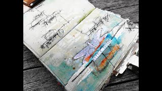 'Little Things'... art journaling