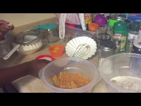 Teaching Oldest Daughter To Make Sweet Potato Bread | I'm A Bad Parent For Cussing Around My Kids