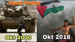 """VIRAL, Aksi Pemuda Palestina """"Aed Abu Amra"""" Saat Great Return March di Gaza Palestina"""