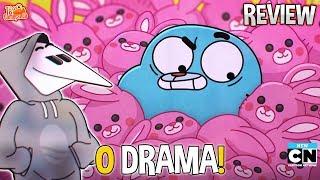"""A CARRIE TRAIU O DARWIN? """"O Drama"""" (T06E29 - REVIEW) - O Incrível Mundo de Gumball"""