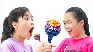 Thử Thách Với 10.000 Chiếc Kẹo Mút ❤ Nướng Kẹo Mút - Trang Vlog