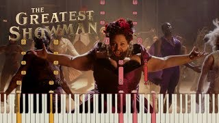 """The Greatest Showman - """"This Is Me"""" [Piano Tutorial] (Synthesia)"""