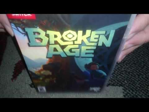 Nostalgamer Unboxing Broken Age On Nintendo Switch NS Limited Run Games