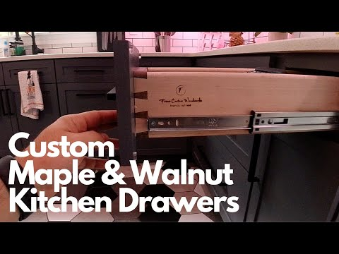 Custom Dovetail Drawers
