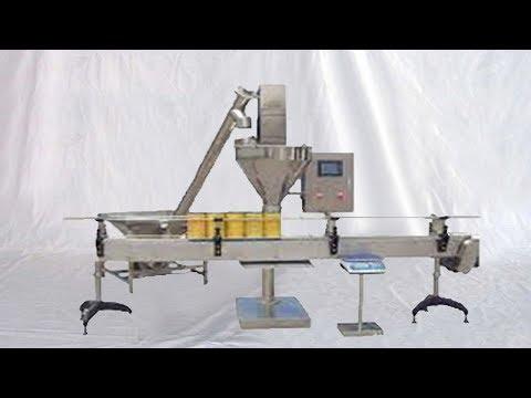 automatic powder auger filling machine customized linear filler remplissage de poudre en bouteilles