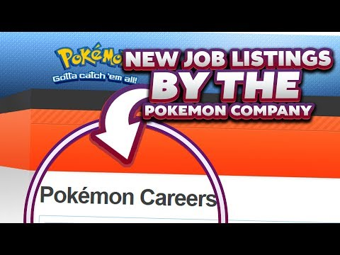 POKEMON COMPANY HIRES! New Pokemon Job Listings For Editor VG & Translators
