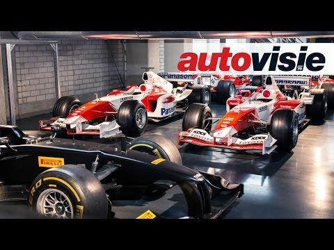 Hidden treasures inside basement Toyota Motorsport - by Autovisie TV