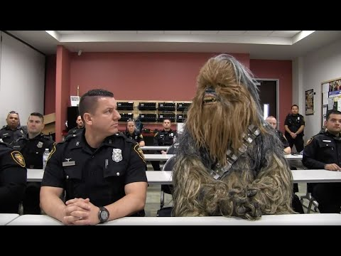 Wookies Assemble! Star Wars' Chewbacca Joins Fort Worth Police