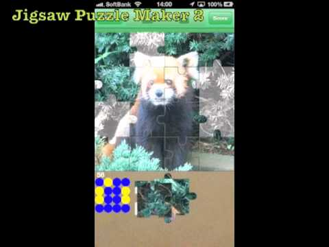 Jigsaw Puzzle Maker 2 : iPhone App Demo
