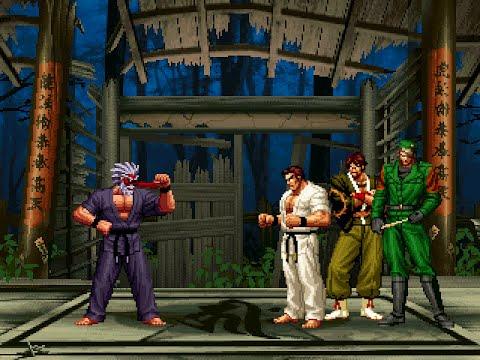 [KOF Mugen] Mr. Karate Vs Master Team