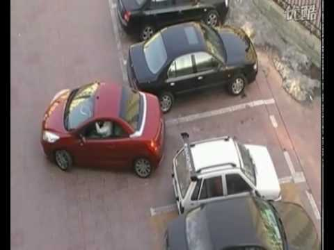 Do not steal someone's Parking Space! Especially woman's.