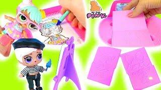 LOL Painting НОВИНКА! Малюємо Ляльок ЛОЛ на Палетках! Ігри для Дівчаток! Розмальовки! Coloring for Kids