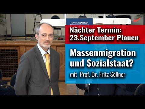 Fritz Söllner: Entweder offene Grenzen oder Sozialstaat!