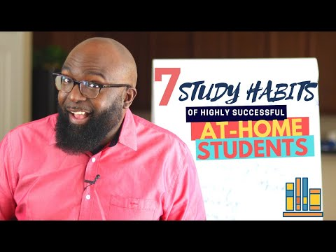 Study Skills - 7 Study Habits of Successful HomeSchooled and Online learning Students