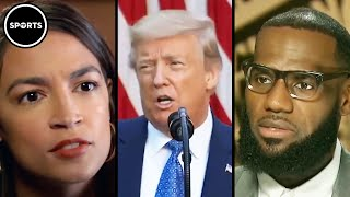 AOC And LeBron EXPOSE Trump's Racism During Interview