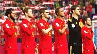 Belgium vs Switzerland | Full Match & All Goals 2018 | PES 2018 Gameplay HD
