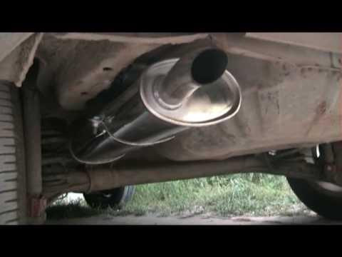 Модульный глушитель UNIMIX на Opel Cadet
