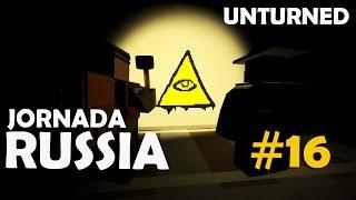 Unturned - Jornada Russia #16: illuminati no Metrô (Ft. Dead)