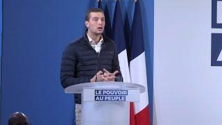 Qui est Jordan Bardella, tête de liste RN aux européennes et protégé de Marine Le Pen?