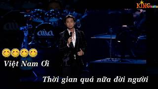 Karaoke Việt Nam Tôi Đâu Beat Đan Nguyên