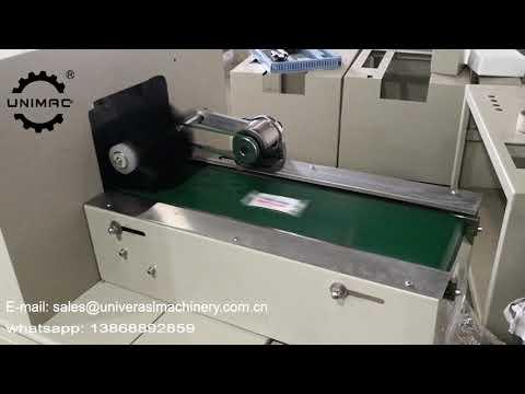 UMX 250D full automatic paper car air freshener perfume drop filling packing machine