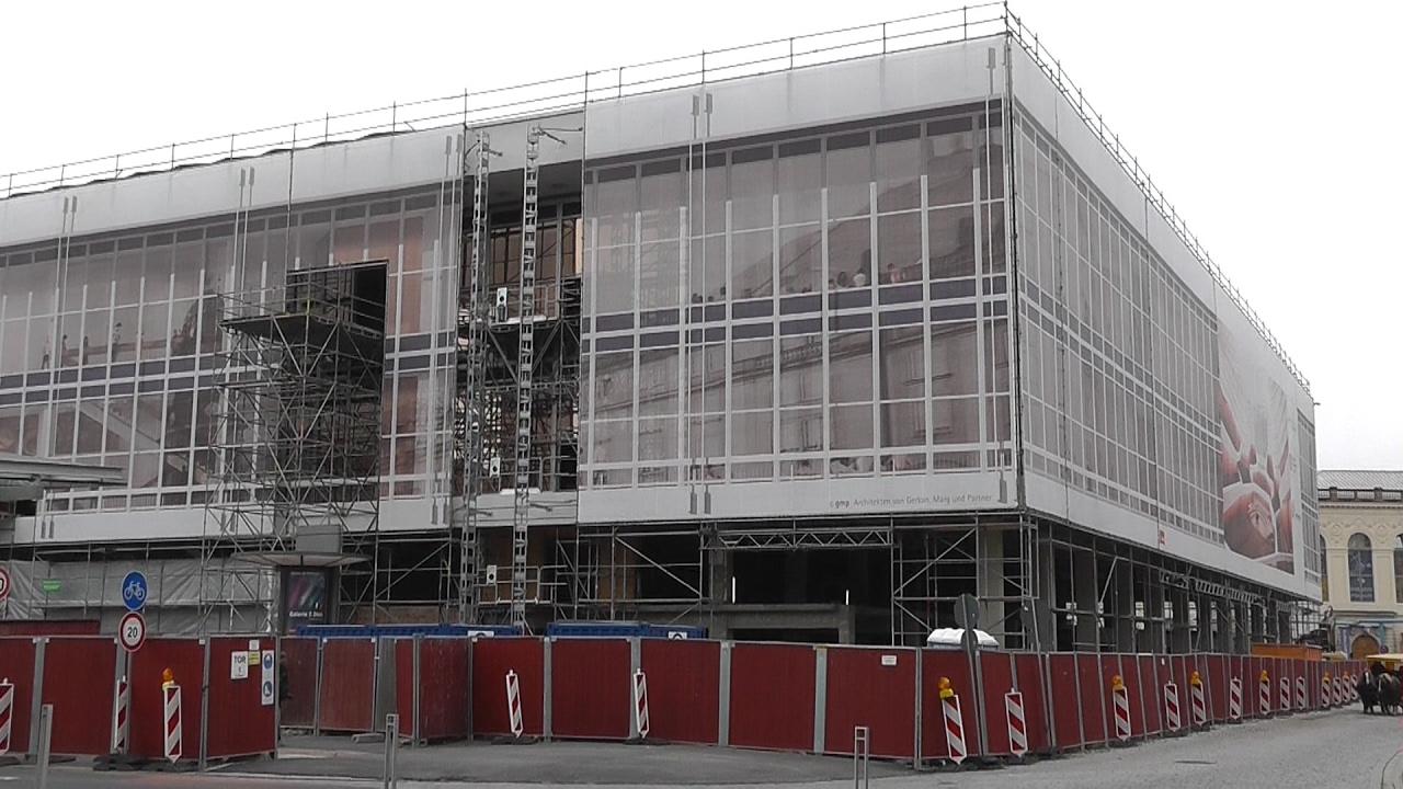 Baustelle Kulturpalast Dresden: Stand 7. Februar 2017