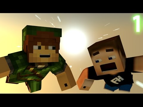 Peter Pan IN MINECRAFT {3D Minecraft Animation}