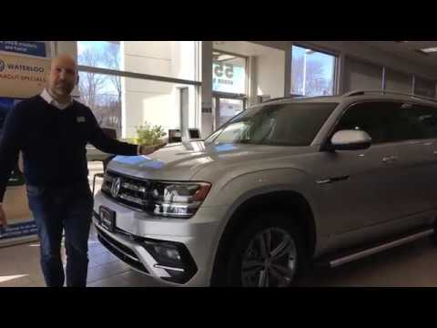 2018 Volkswagen Atlas Execline R-Line Package Review