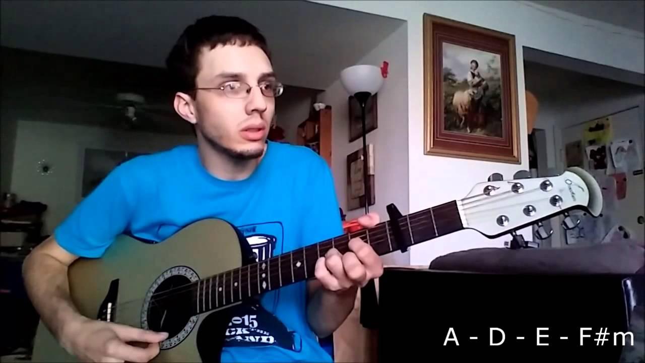 My Story Big Daddy Weave Guitar Tutorial Youtube