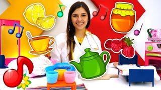 Детские песни для малышей. Песенка про полезный чай