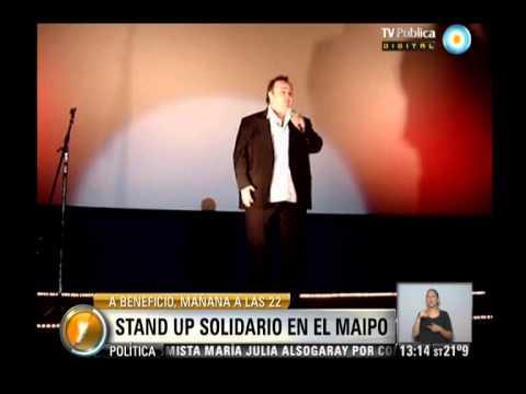 """Visión 7: Inundaciones: """"Stand Up Solidario"""" En El Teatro Maipo"""