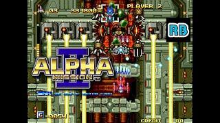 1991 [60fps] Alpha Mission II 3201100pts ALL