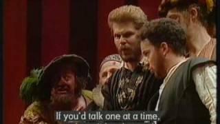 Verdi- Falstaff, beginning of act 1 scene 2. Suzanne Murphy, Nuccia Focile, Cynthia Buchan WNO