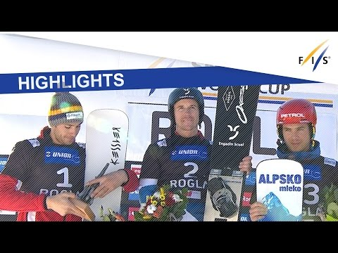 Highlights | Galmarini Finally Breaks Deadlock In Rogla PGS | FIS Snowboard