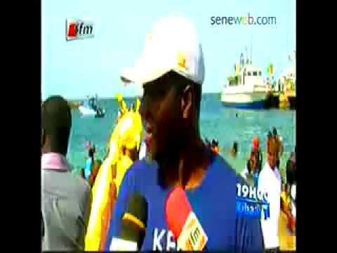 Natation la Traversée Dakar Gorée a Accueilli des Etranges Pour sa 26e Edition