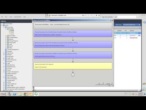 FileHold Document Management Software Workflow Overview