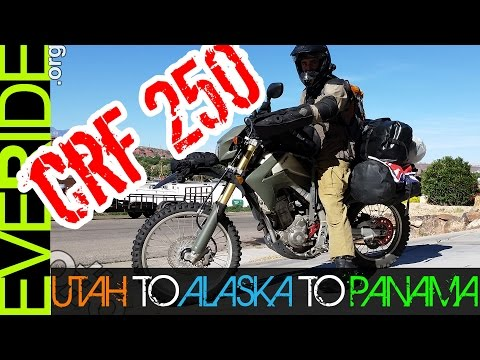 "Alaska to Panama on a CRF250L! Rolling Travel Interview with ""Neil's in"" o#o"