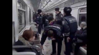 Драки в метро Разборки