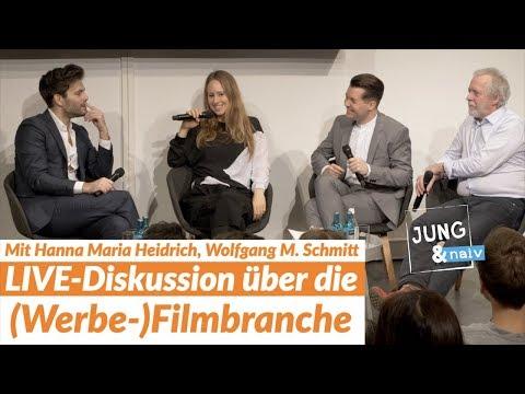 LIVE-Event über politische Filme & die Werbebranche mit Wolfgang M. Schmitt & Hanna Maria Heidrich