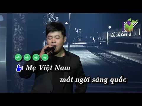 Hoa Cài Mái Tóc Karaoke - Quang Lê (Beat chuẩn)