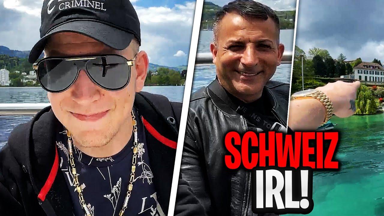 BOOTS TOUR in Luzern!😎 mit PRIVATJET Nachhause? | MontanaBlack IRL Stream