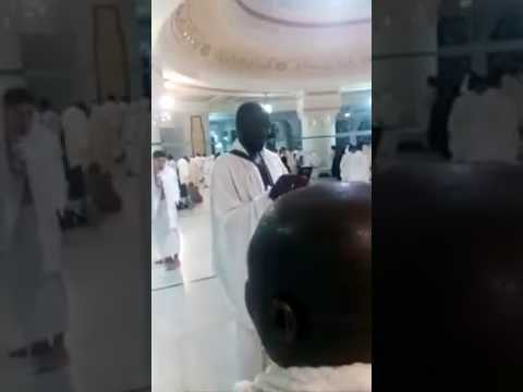 Gambians is Mecca pray for peace in Gambia