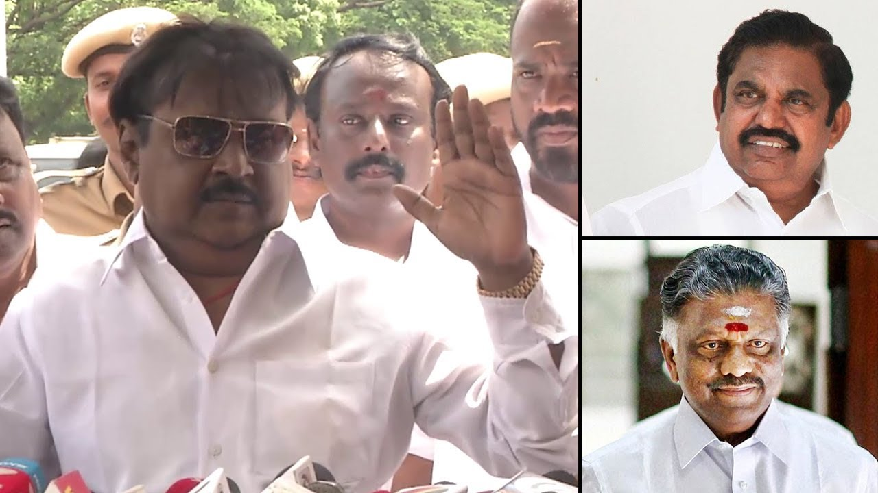 Image result for ops eps and vijayakanth